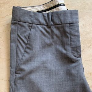 Theory grey trousers